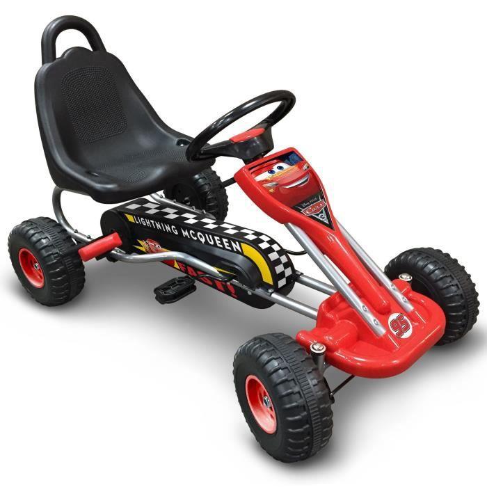 CARS Go Kart à Pédales 89 x 52cm - Disney