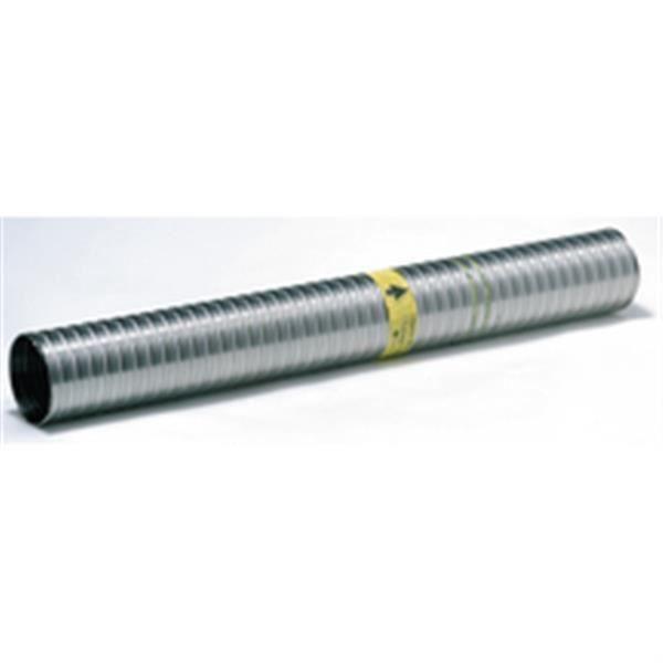 Ten Flexible TENLISS inox D 200 206 tubage double peau inox intérieur lisse disponible en Carton 30 m Réf 059200