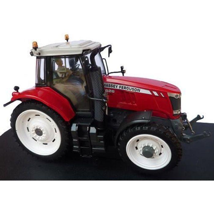 Tracteur Massey Ferguson 7626 roues étroites - Universal Hobbies - miniature collection