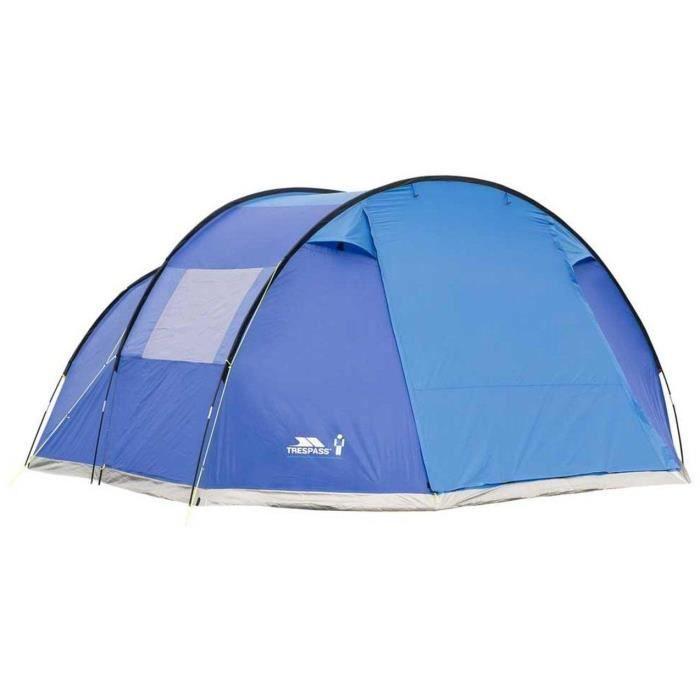 TRESPASS Tente Torrisdale - 6 places - Bleu