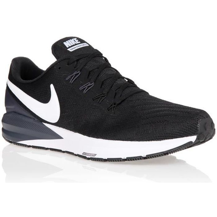 NIKE Baskets Air Zoom Structure 22 - Homme - Noir