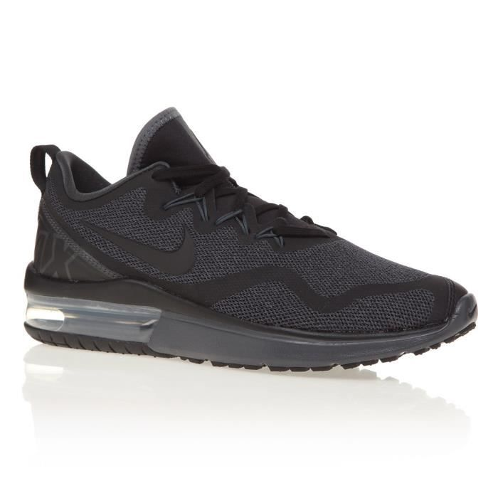 official photos fc350 05c65 BASKET NIKE Chaussures Air Max Fury - Homme - Noir