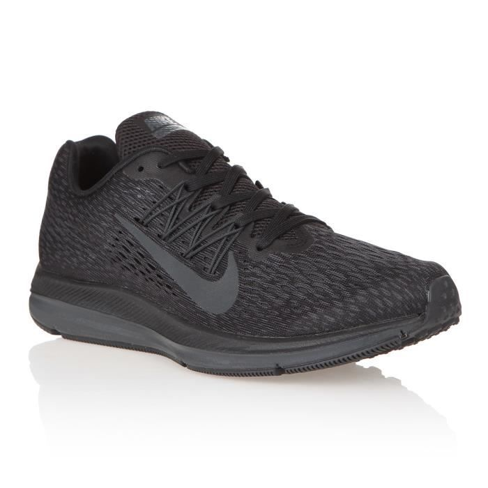 NIKE Baskets Air Zoom Winflo 5 - Homme - Noir