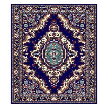tapis style d 39 orient bleu assouan i achat vente tapis cdiscount. Black Bedroom Furniture Sets. Home Design Ideas