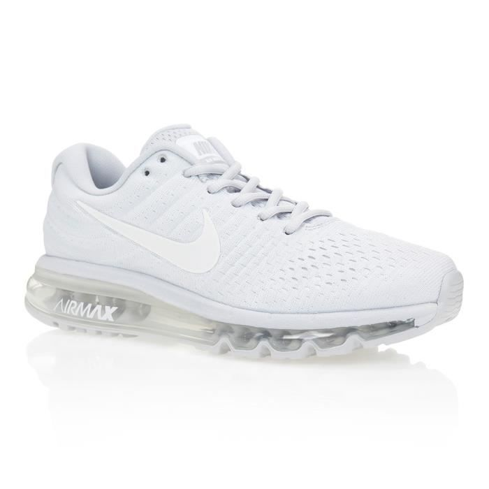 NIKE Baskets Air Max 2017 - Homme - Gris Clair/Blanc