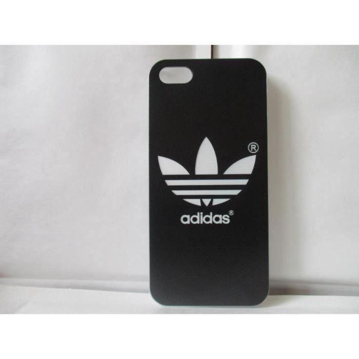 coque rigide adidas noir pour iphone 5 5s se achat coque. Black Bedroom Furniture Sets. Home Design Ideas