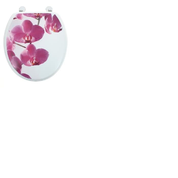 Abattant wc orchidee - Taille Universelle - Achat / Vente abattant ...