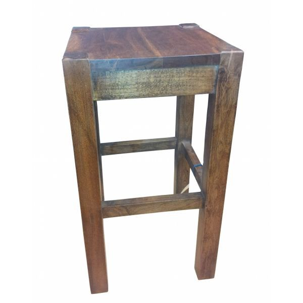 tabouret de bar en acacia massif achat vente tabouret de bar soldes d hiver d s le 6. Black Bedroom Furniture Sets. Home Design Ideas