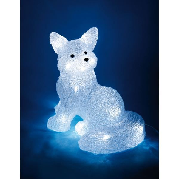 Superbe illumination de no l renard lumineu achat - Video illumination de noel exterieur ...