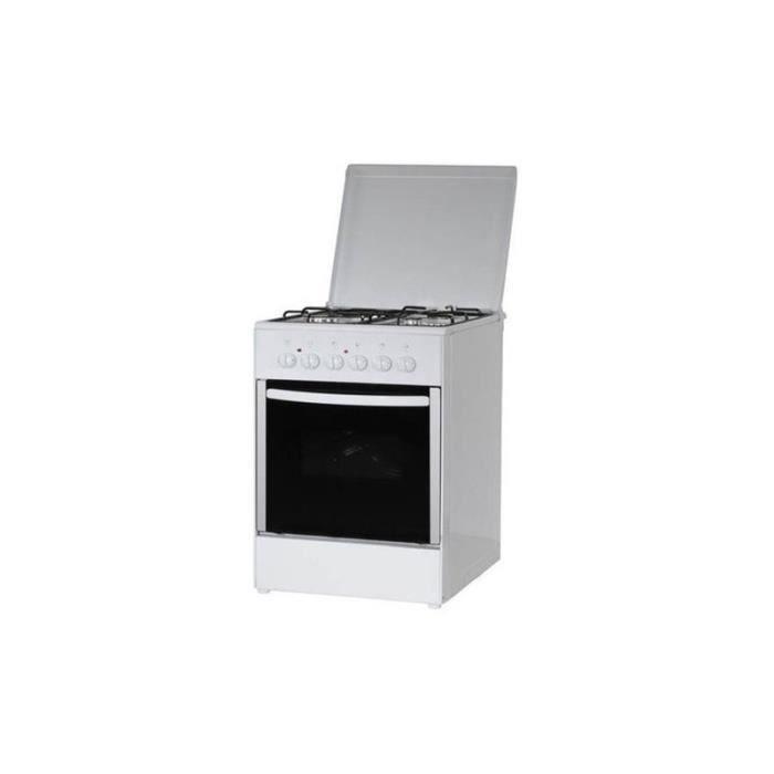 CUISINIÈRE - PIANO TRIOMPH Cuisinière mixte TE660MW, 60 cm, 3 foyers
