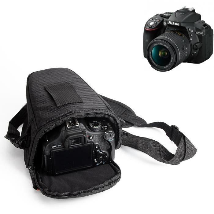 Sac Housse Néoprène Protection pour Appareil Photo Reflex Canon//Nikon Taille M