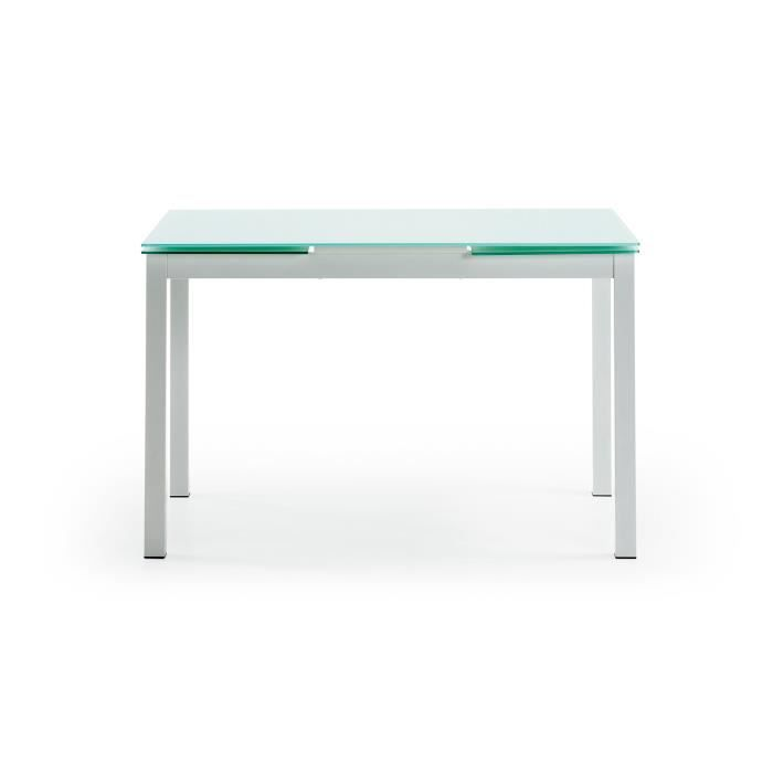 Table extensible alma 120 200 cm achat vente table a for Table extensible 120 cm