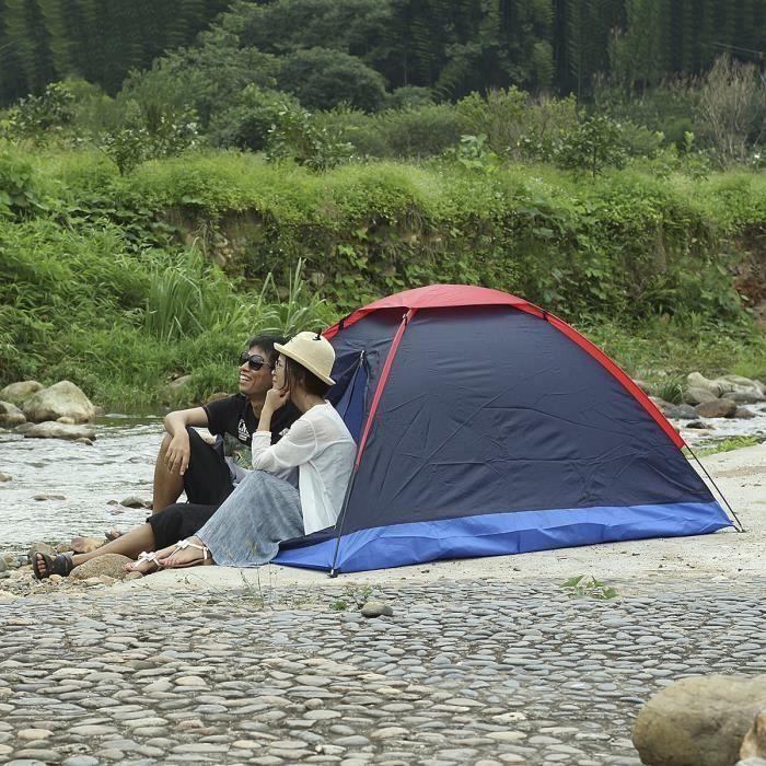 Proaction 6 Personne Tente 2 Pièce Imperméable Camping Famille Randonnée Avec Sac de transport