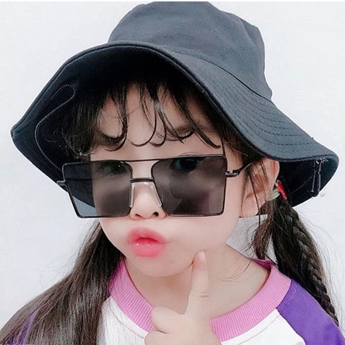 Enfants Réfléchissant Miroir Lunettes de soleil Meta Couleur Garçon Fille Yeux Lunettes de protection