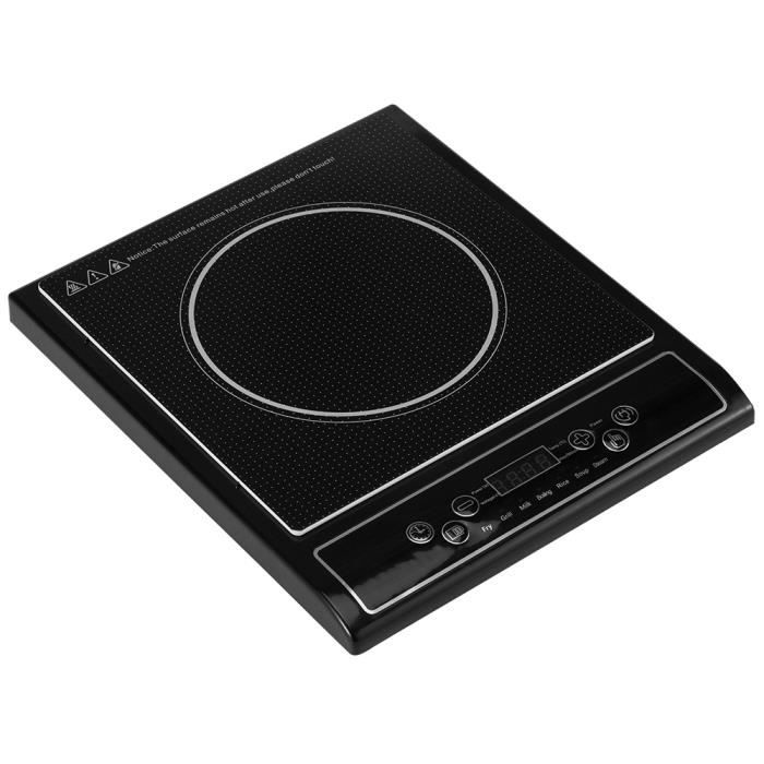 plaque de cuisson induction 2000w top cook achat vente plaque posable cdiscount. Black Bedroom Furniture Sets. Home Design Ideas