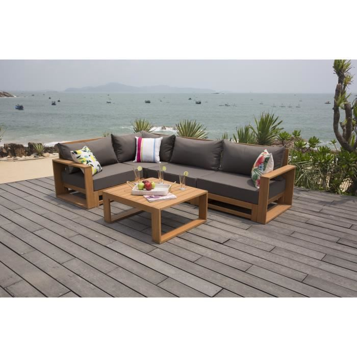 finlandek salon de jardin avec angle modulable en. Black Bedroom Furniture Sets. Home Design Ideas
