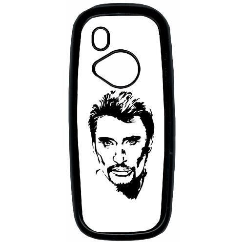 Coque Pour Smartphone Plastique Noir Nokia 3310 2017 Dessin