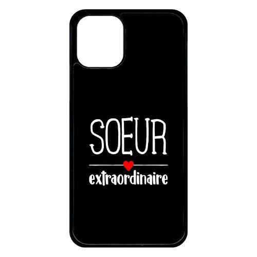 Coque pour smartphone - Plastique - Noir Apple iPhone 11 Pro SOEUR EXTRAORDINAIRE FOND NOIR