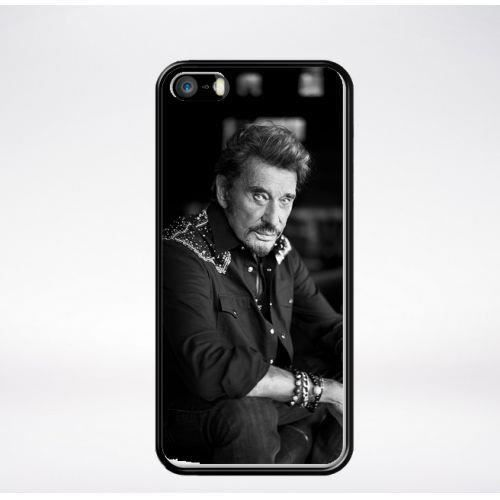 coque iphone 5 johnny hallyday
