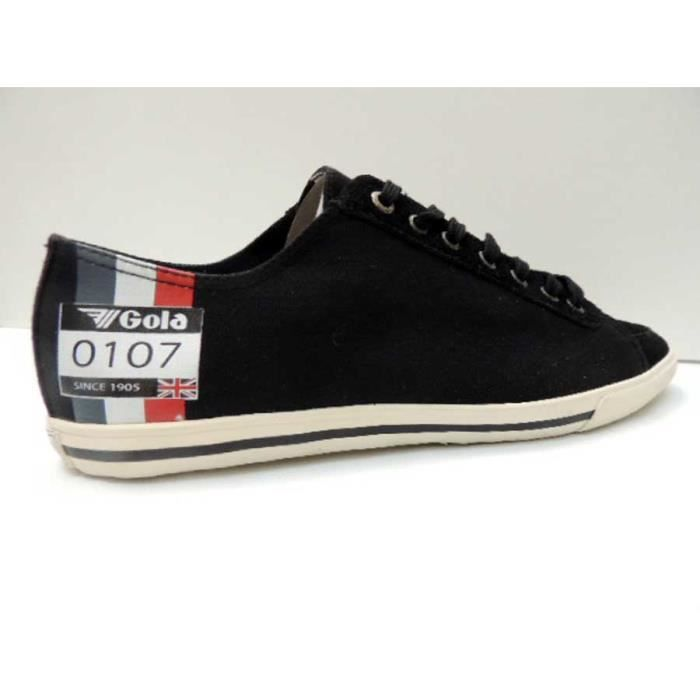 Chaussure Basse Gola medal low black white Homme Pointure 44