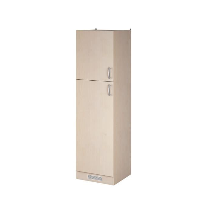 meubles de cuisine colonne 60 x 30 x 206 9 cm achat vente l ments colonne meubles de. Black Bedroom Furniture Sets. Home Design Ideas