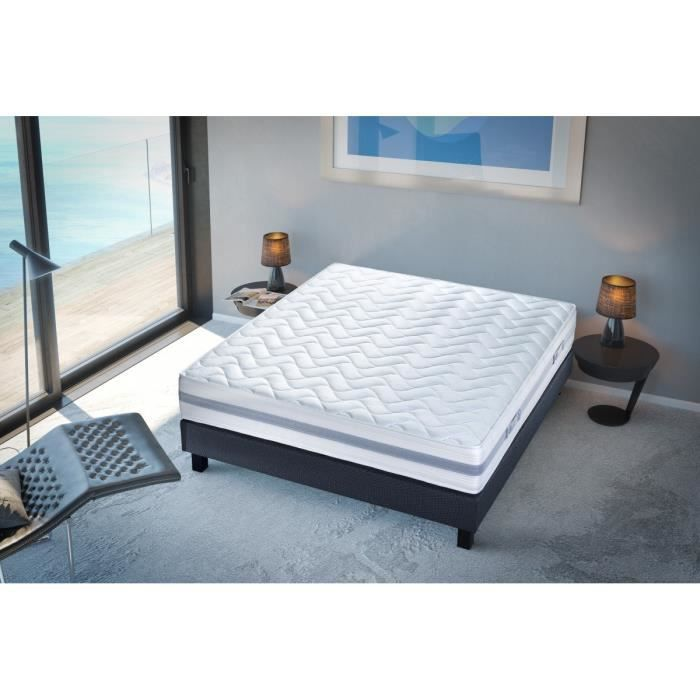 creasom matelas activ 160x200 cm ressorts et mousse. Black Bedroom Furniture Sets. Home Design Ideas