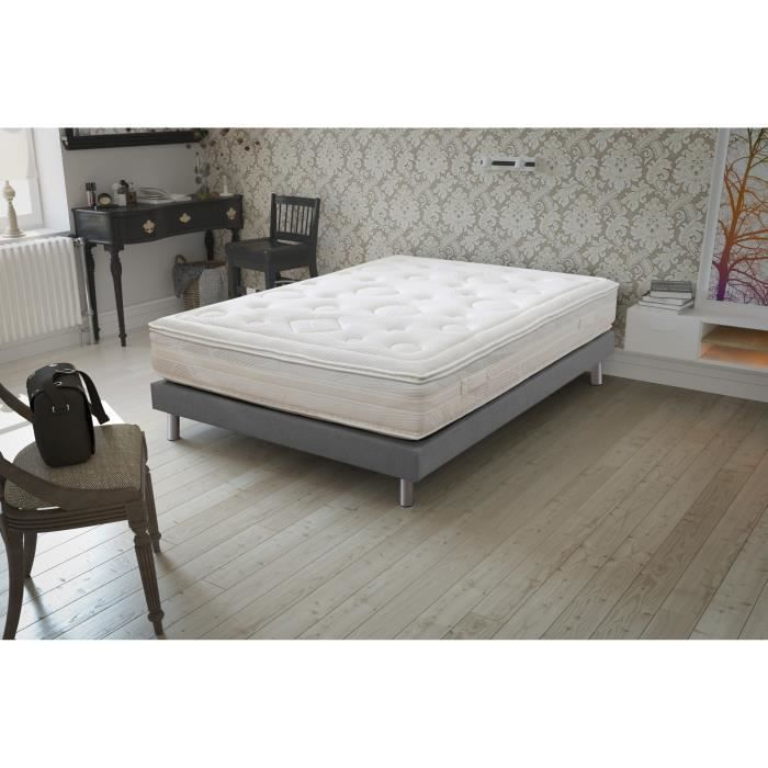 narcisse matelas 160x200cm 2 personnes ressorts ensach s ferme 836 ressorts achat. Black Bedroom Furniture Sets. Home Design Ideas