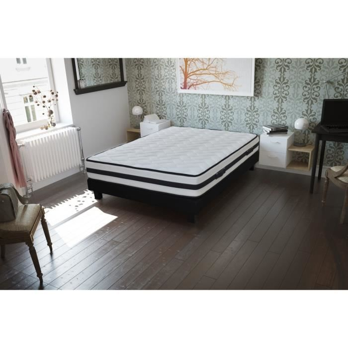 creasom matelas sassari 140x190 cm ressorts equilibr. Black Bedroom Furniture Sets. Home Design Ideas