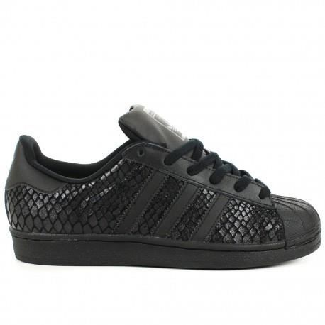 adidas superstar noir brillant
