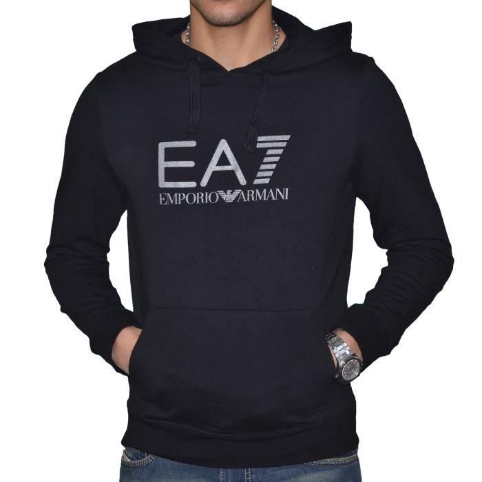 EA7-Sweat Emporio Armani EA7 Homme à Capuche