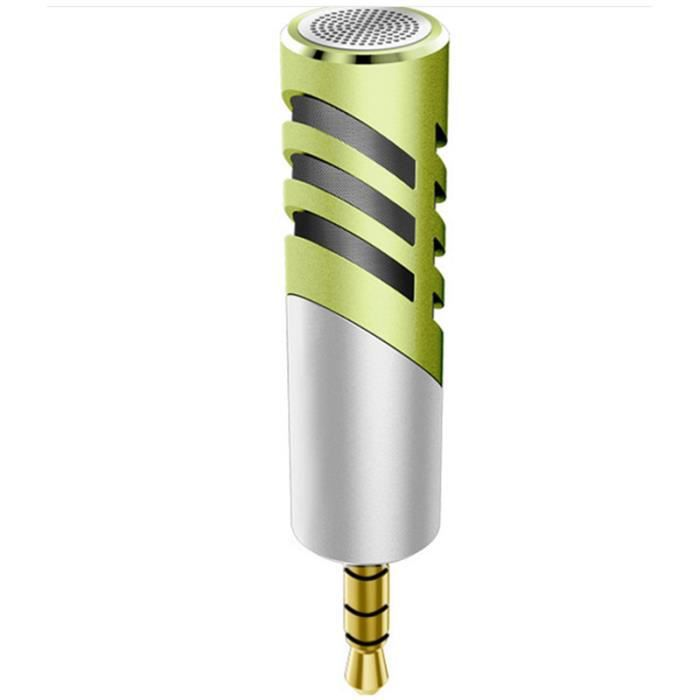 R1 3.5mm Microphone D'enregistrement Video 90 Degres Rotatif K-song For Condensateur