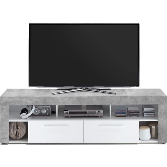meuble tv hauteur 50cm achat vente meuble tv hauteur. Black Bedroom Furniture Sets. Home Design Ideas