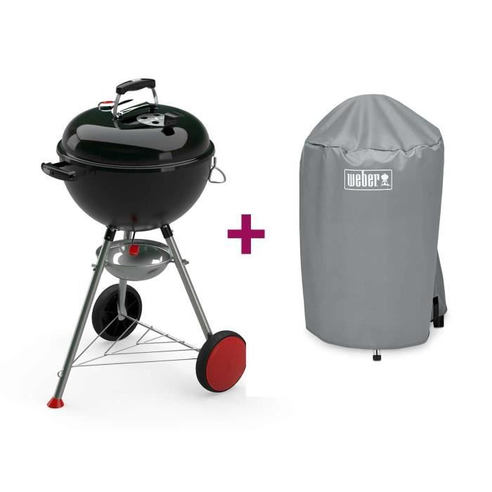 barbecue weber kettle plus 47 cm housse achat vente. Black Bedroom Furniture Sets. Home Design Ideas