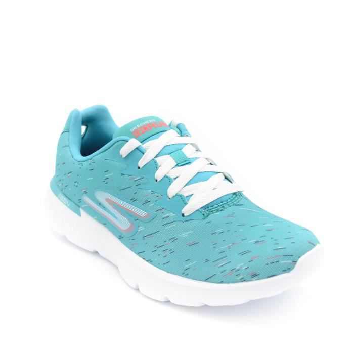 Skechers Basket femme Go Run 400 art.14807-Turq Natural T. 38