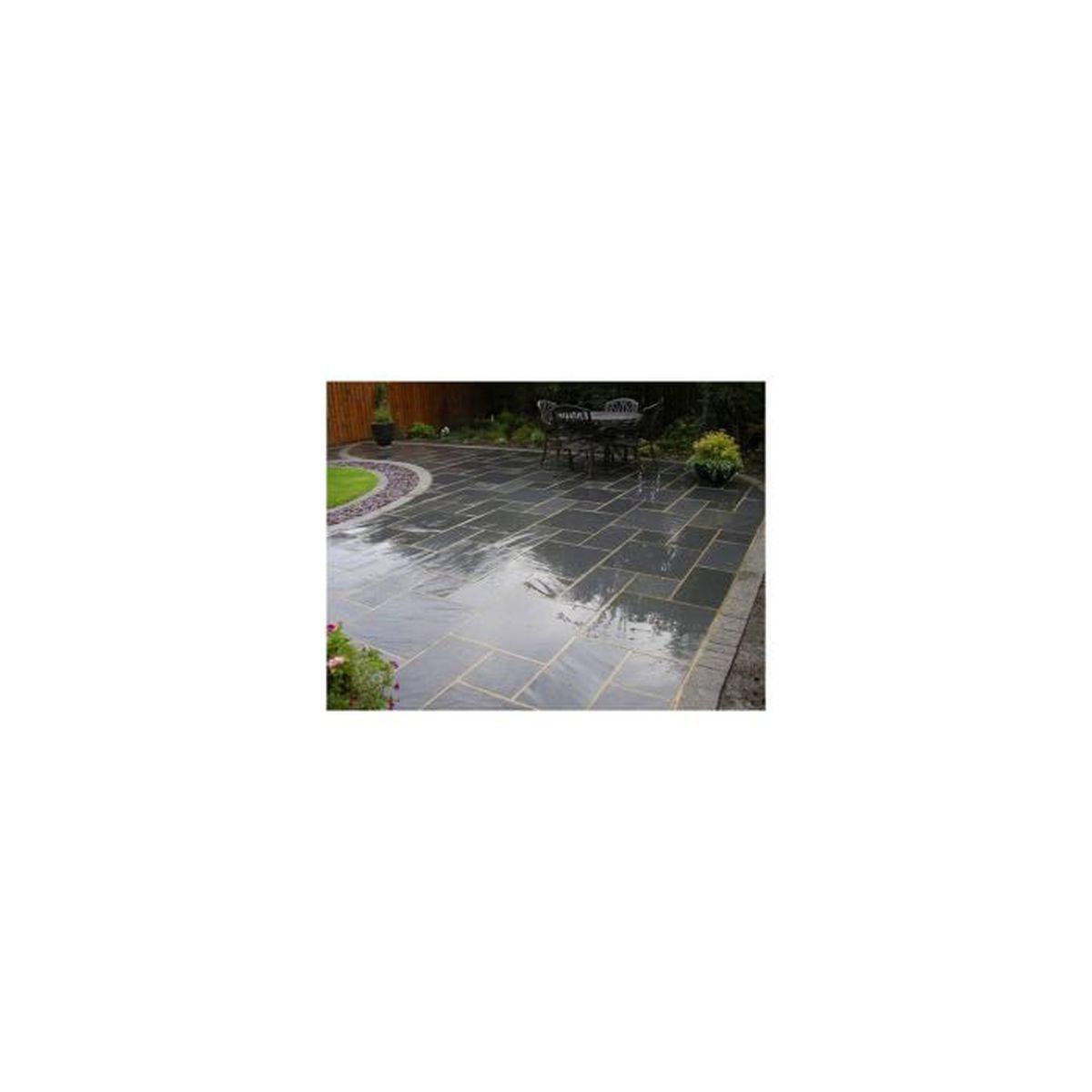 Dalle Ardoise 100 X 30 terrasse de 5 m² en dalle de 100x30 - achat / vente dallage