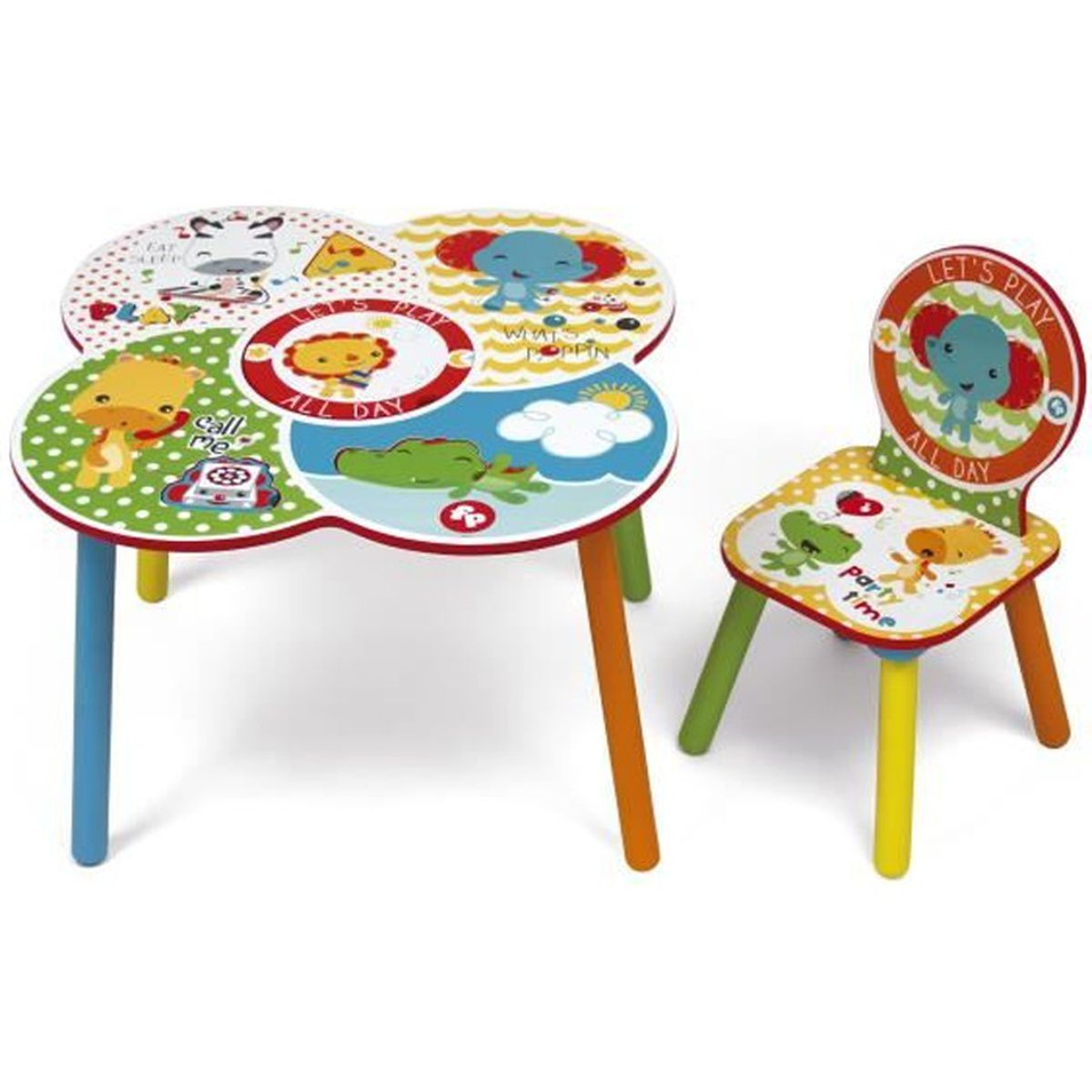 Chaise fisher price achat vente chaise fisher price pas cher cdiscount for Chaise 4 en 1 fisher price