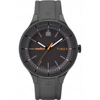 Royaume-Uni disponibilité d74d9 3567d Timex Montre Timex Ironman Essential Urban 42mm gris - orange, bracelet en  silicone 1M5RKF
