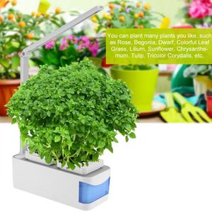Eclairage horticole VAGUE 2 en 1 Lampe LED intelligent + 2 poles d'her