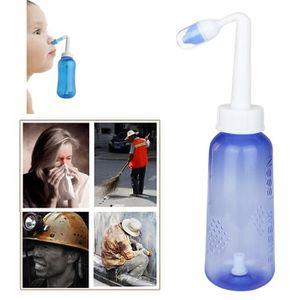 Lorenlli Syst/ème de lavage du nez de rin/çage nasal Neti Pot Sinus Irrigation Sinus Cleaner pour un nettoyage complet des sinus