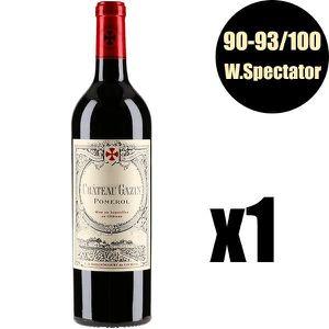 VIN ROUGE X1 Château Gazin 2014 75 cl AOC Pomerol Vin Rouge