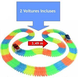 CIRCUIT Jouet circuit piste magique 3,49m + 2 voitures typ
