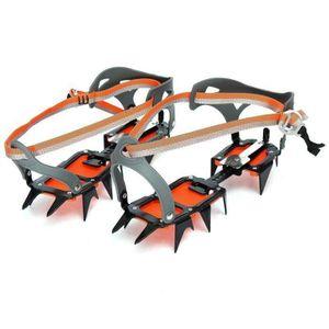 CRAMPON POUR GLACE Crampons Antidérapants Chaussures Avec 12 Crochets