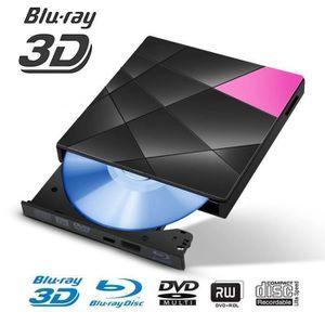 CD - DVD VIERGE Lecteurs Graveurs Externes Blu-ray USB 3.0 de BD-C