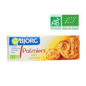 BISCUITS & GOÛTERS BJORG Biscuits Palmier Bio 100g