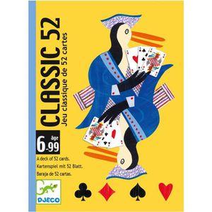 CARTES DE JEU Jeu de cartes : Classic 52 aille Unique Coloris Un