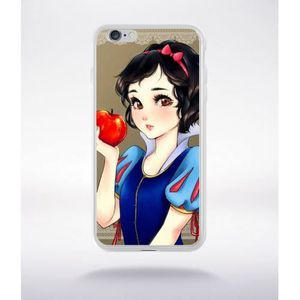 coque blanche neige manga compatible iphone 6 plus