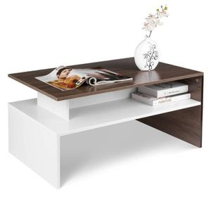 TABLE BASSE HOMFA Table Basse de Salon Design Table de Salon e