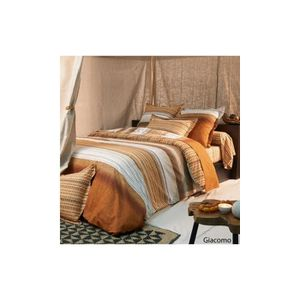 housse de couette orange achat vente housse de couette orange pas cher. Black Bedroom Furniture Sets. Home Design Ideas