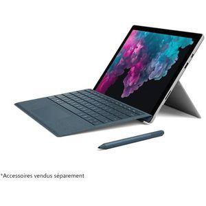 Achat PC Portable NOUVEAU Microsoft Surface Pro 6 Core i7 RAM 16 Go SSD 512 Go - Platine pas cher