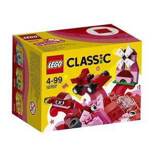 BOITE DE RANGEMENT Boîte créative LEGO rouge 10707
